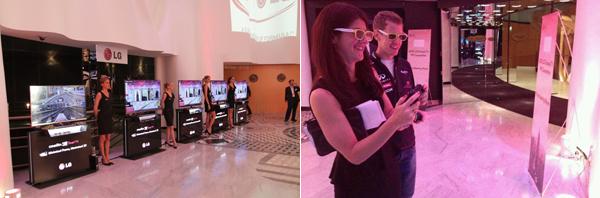 '살 데 에뚜와(Salle des Etoiles)' 에서 열린 LG 올레드 TV 신제품 발표회 행사 현장