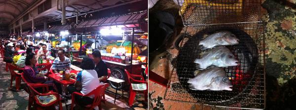 수산 시장, 음식 사진