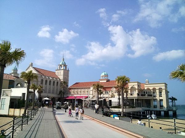 모모치 해변 사진