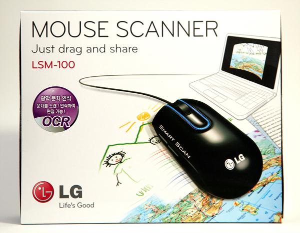LG 마우스 스캐너 LSM-100 사진