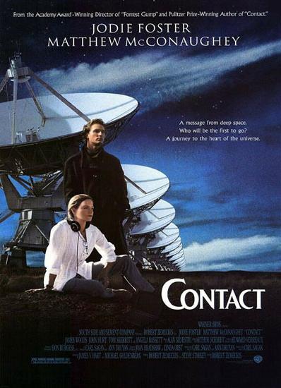 영화 '콘택트' 포스터 사진