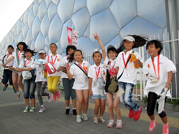 중국 학생들의 모습