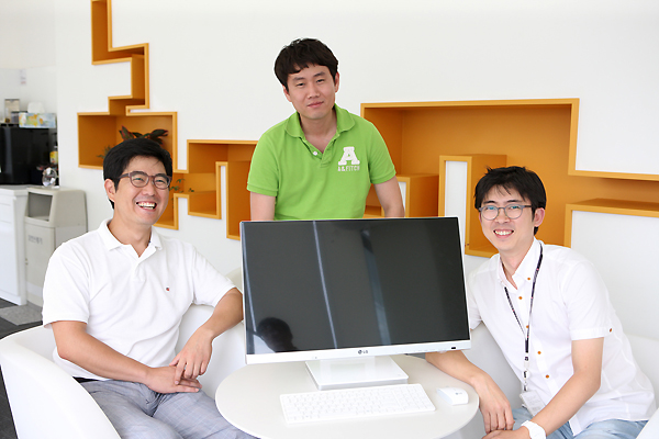 좌측부터 이승돈 책임, 김성주 주임, 신종윤 책임 사진