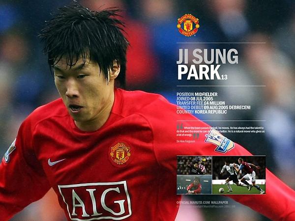 축구선수 박지성 사진