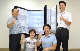 세계 최대 910리터 LG 디오스 V9100의 개발 주역들