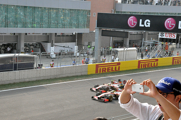 F1 코리아 그랑프리 현장