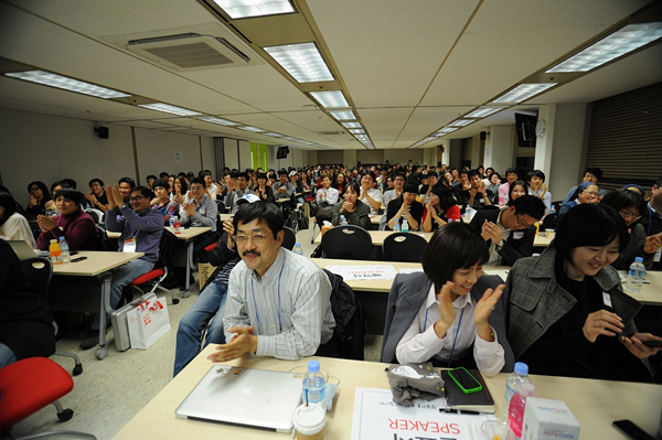 ignite Seoul 4회 참석자들의 모습
