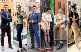 우리는 LG 스타일~ 서울 스퀘어의 패셔니스타를 찾아라