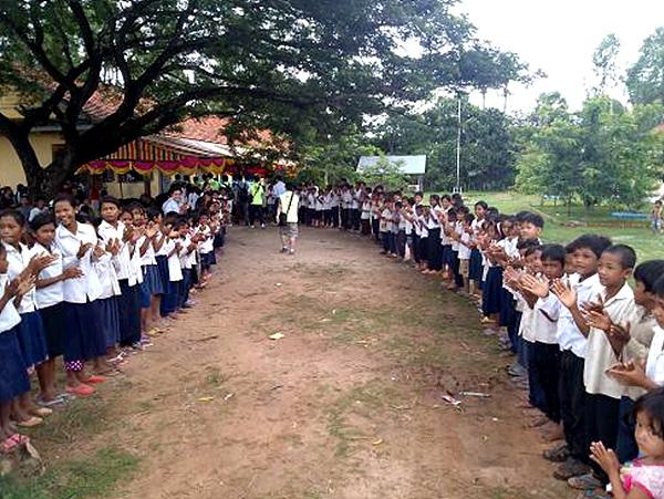 캄보디아 잔소 아이들의 모습
