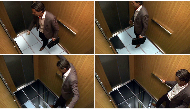 엘레베이터 사진