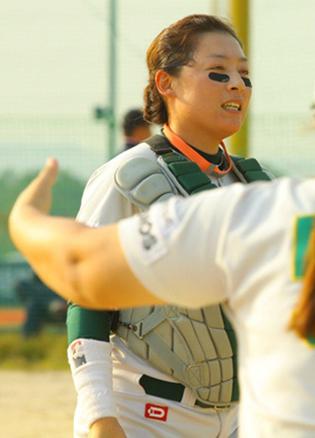 여자 야구선수 사진