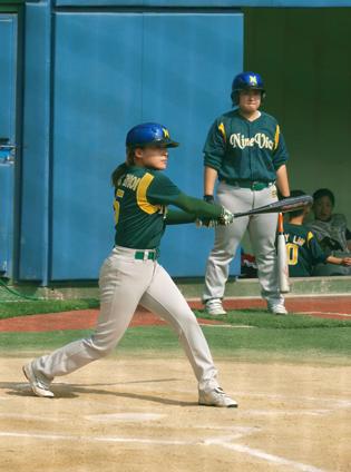 야구를 하는 모습