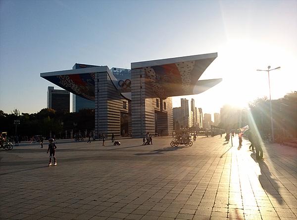 옵티머스 G로 촬영한 올림픽공원 모습