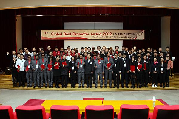 글로벌 베스트 프로모터 어워드 2012 단체사진