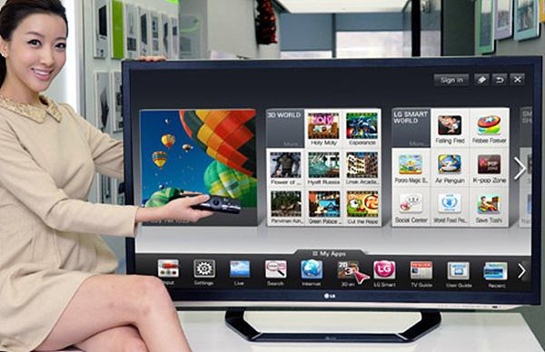 LG 스마트 TV와 모델
