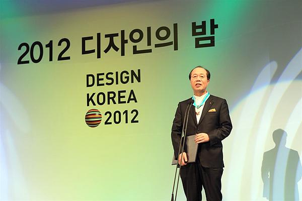 디자인경영센터장 이건표 부사장님의 모습