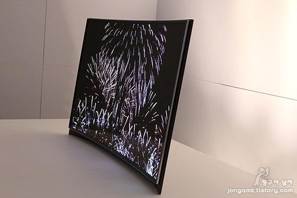 곡면 OLED TV