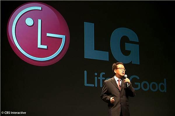 LG 발표 모습