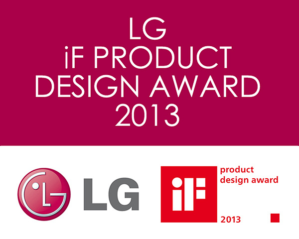 LG If Product Design Award 2013