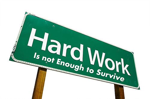 Hard Word. Is not Enough to Survive