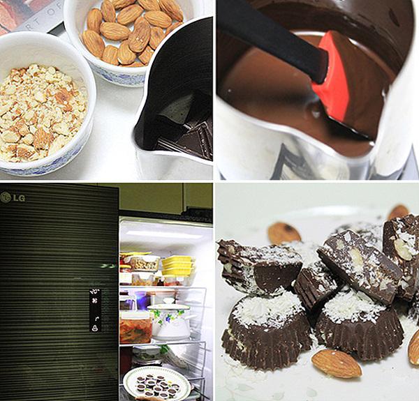 초콜릿 만드는 과정