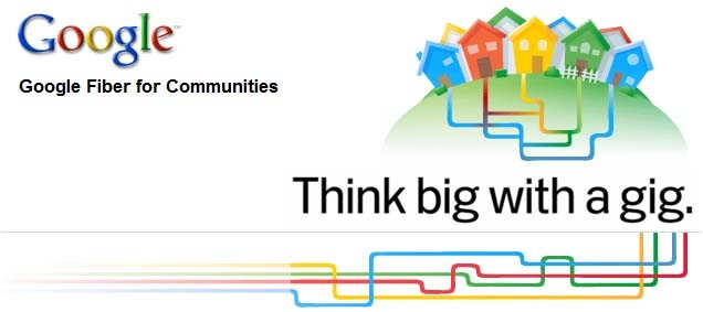 Google Fiber for Communities. Think Big with a gig.