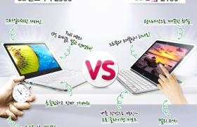 울트라북 VS 탭북, 갖고 싶은 제품은?