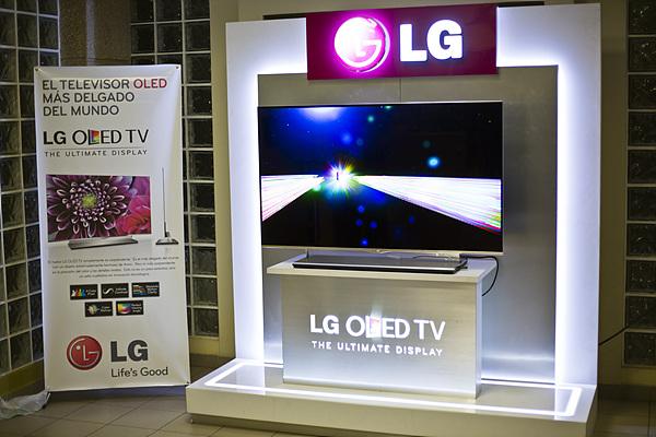 OLED TV 전시