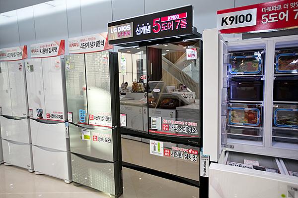 디오스 김치 냉장고