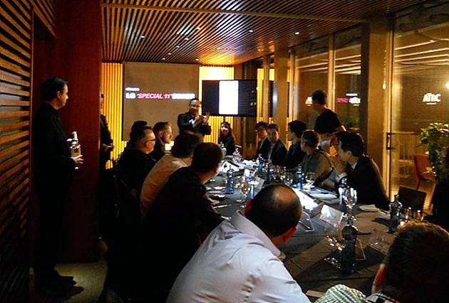 Tech Media 외신기자들과의 저녁식사