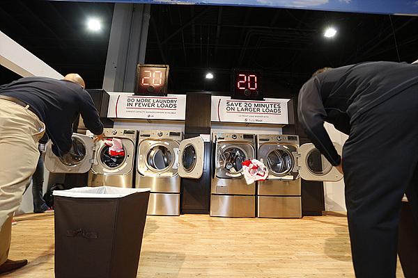 세탁기 체험