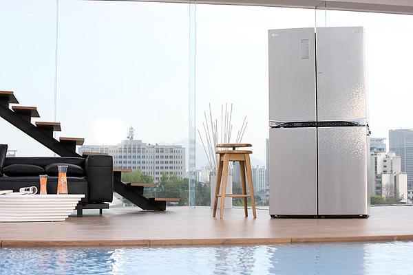 디오스 냉장고 광고 촬영 현장