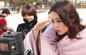 이민정 바닷가 미공개 영상 공개, LG 트롬이면 괜찮아