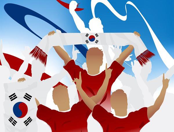 국가대표팀 축구의 인기