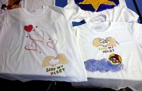 티셔츠를 만들며 놀이를 나누자, 행복을 나누자