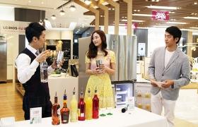 새내기 주부 김효진과 함께 한 LG 디오스 알뜰 수납 비법