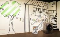환경을 사랑하는 LG 트롬, 미술 작품 속에 떴다!