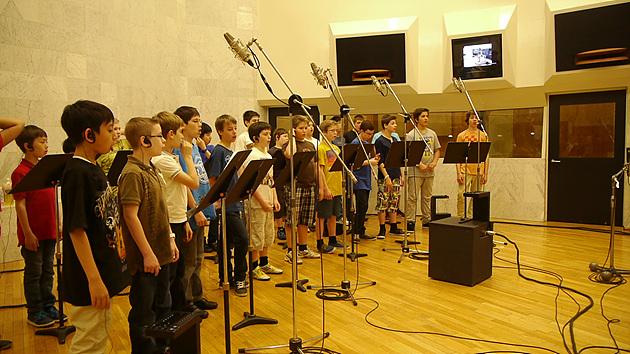 단체 녹음