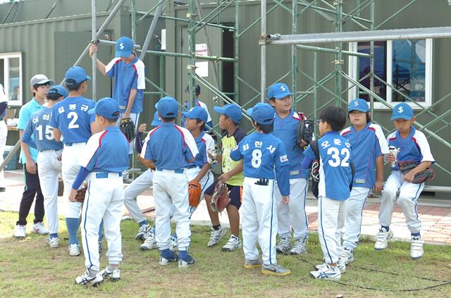 어린이선수들