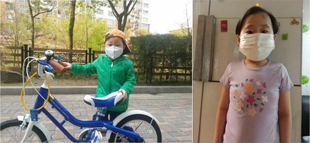 2012 헌혈캠페인 희귀병을 앓고있는 민호(좌)와 원영이(우)의 모습이다