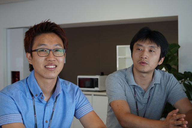 G2 하드웨어 개발자들
