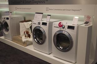 IFA 2013 LG부스 세탁기