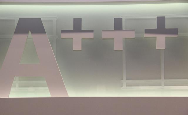 IFA2013 A+ 절감형 제품을 의미하는 아이콘의 모습이 보인다.