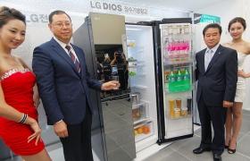 신개념 LG 디오스 정수기냉장고 출시