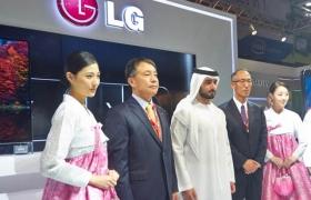 LG전자 차세대 TV로 중동 시장 공략