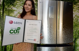 LG전자, 김치냉장고 친환경 기술력 입증