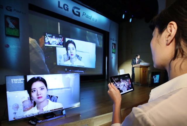 LG G Pad 한국 세계 최초 출시