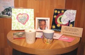 그림으로 나누는 사랑! 탄자니아 어린이 돕기 일일카페 현장
