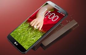 최신 안드로이드 운영체제 4.4 버전인 '킷캣'으로 업그레이드 될 예정인 LG G2 사진