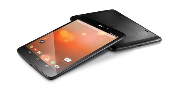 최신 안드로이드 운영체제 4.4 '킷캣'이 탑재된 'LG G Pad 8.3 구글플레이 에디션 제품사진'
